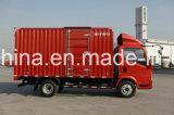 HOWO caminhão da carga da caixa de 7 toneladas/caminhão do camião