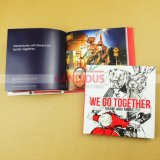 두꺼운 표지의 책 예술 책 아동 도서 인쇄를 인쇄하는 책