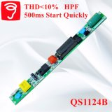 Fuente de alimentación rápidamente aislada de la lámpara del comienzo 500ms LED del Thd<10% QS1124b