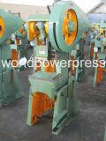 Máquina excêntrica Inclinable da imprensa de potência de 10 toneladas