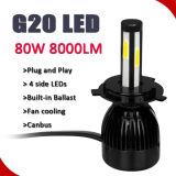 Lampade della testa del punto del CREE LED, faro automatico automatico dell'automobile LED del faro H7 LED