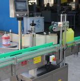 Máquina de etiquetas plástica do frasco do champô