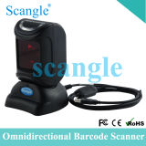 Omin-Directional Barcode Scanner Table Barcode Flat Bar Code Scanner