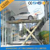 Cer TUVSGS hydraulische 3.3m Scissor Auto-Aufzüge für Garagen