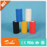 Fasciatura coesiva non tessuta della barretta dell'involucro delle fasciature con il Ce della fabbrica, iso, approvato dalla FDA