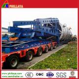 Máquinas especiais Transportaion Lowbed Semi Reboque Pesado Veículo