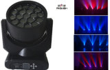 DEL Stage Lighting 19X12W Beam Moving Head Light