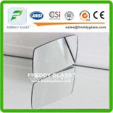 el espejo impermeable del cuarto de baño del espejo de la plata del claro de 3m m/el espejo de la hoja/el espejo del flotador/adornaron el espejo