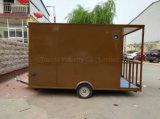 قعر سعر الصين [فست فوود] جديد متحرّك يبيع عربة مصغّرة