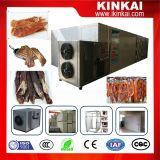 Drogere Oven van het Vlees van de Kip van het Dehydratatietoestel van het Rundvlees van de Apparatuur van de Verwerking van het vlees de Schokkerige