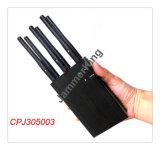 Seis de la señal de banda Blockers-Portable Bloqueo para 2g (CDMA/GSM/3G/4gwimax Celulares+GPS