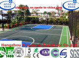 Consistent Elasticity Recyclable PP Basketball Floor Gymを使って
