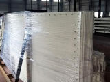 Capacidade de armazenamento da máquina da construção grande silo Folha-Montado 200 toneladas do cimento