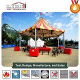 秒針のイベントのための多彩な屋根が付いている六角形の結婚式のテント