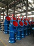 Grande capacité haute efficacité verticale de la pompe à débit axial
