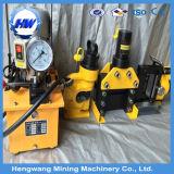 Kupfer-und hydraulischer Aluminiumhauptleitungsträger-aufbereitende Maschine