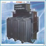 transformateur amorphe triphasé immergé dans l'huile d'alliage de 400kVA 10kv/transformateur de distribution