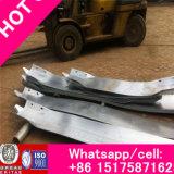 Barrière de blocage routière riche en acier galvanisé Q235, barrière de circulation routière