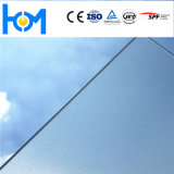 AR die het Lage Gehard glas van het Zonnepaneel van het Ijzer Geweven voor PV Module met een laag bedekken