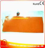 calentador eléctrico flexible del caucho de silicón de 12V 300W 750*50*1.5m m