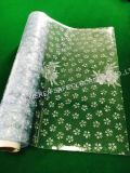 공간 또는 꽃 PVC 커튼과 장