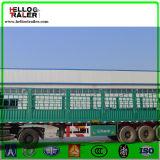 Vee, Suikerriet, Vervoer van de Lading stortgoed de Semi Aanhangwagen van de Omheining van 60 Ton