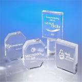 Spazii in bianco acrilici liberi su ordinazione del trofeo di vetro organico (BTR-I 7058)