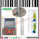Tipo armadi della serratura di rilievo di memoria d'acciaio della rete metallica dell'armadio