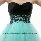 Frauen reizvoll eine Zeile Sleeveless Backless kurzes Miniabschlußball-Kleid
