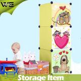 La casa di plastica di presentazione del bambino accatastabile della scatola scherza la casella di memoria