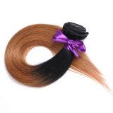 공장 도매 브라질 머리 1b 30 100% 사람의 모발 연장 10inch