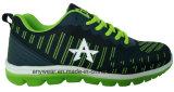 Calzado deportivo Flyknit tejida zapatos corrientes de gimnasia de los deportes (816-7924)