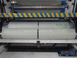 750mm*1500m*25um Celadonの緑色の高速梱包機のための吹かれたサイレージの覆いのフィルム