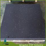 Plancher en caoutchouc réutilisé respectueux de l'environnement de gymnastique de granules