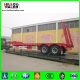 Axle 2 трейлера тележки кровати 30 тонн трап низкого механически