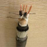 Conducteur de cuivre nu PE XLPE Acier isolé en aluminium Mylar à bande Fil en acier galvanisé Câble d'instrument blindé