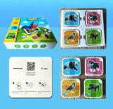 вспышка Ar печатание бумаги верхнего качества 4D волшебная Toy карточка
