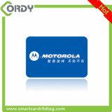 Impreso Tamaño personalizado Dimensiones cuadradas / redondas Tarjetas RFID RFID con agujero