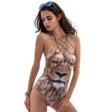 La impresión de León sexy traje de baño para mujeres sexy
