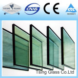 5+9A+5mm, 6+12A+6mm het laag Geïsoleerde2 Holle Glas van het Glas voor Bouw