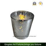 Candela di vetro senza fiamma a pile del vaso del LED per la decorazione domestica