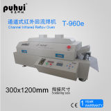 Forno Puhui T960e do Reflow do diodo emissor de luz SMT, Desktop sem chumbo novo de SMT