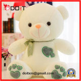 Valentines Gift Couple Teddy Bear Peluche Toy With Broderie Coeur
