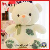 Het Stuk speelgoed van de Pluche van de Teddybeer van het Paar van de Gift van valentijnskaarten met het Hart van het Borduurwerk