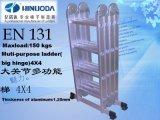 En131の熱い販売法の多目的アルミニウム梯子