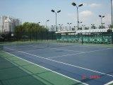 Le PVC extérieur folâtre la surface de plancher pour le badminton et le basket-ball