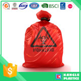 Sac remplaçable en plastique de Biohazard de prix usine