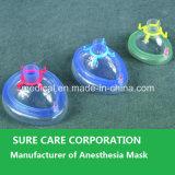 Wegwerfbares Medical PVC Anesthesia Mask mit Check Valve (CER-ISO)