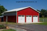 Garage della struttura d'acciaio di colore rosso di alta qualità liberato di (KXD-32)