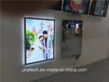 Slim Acrylic Crystal LED Magic Mirror Digital Light Box